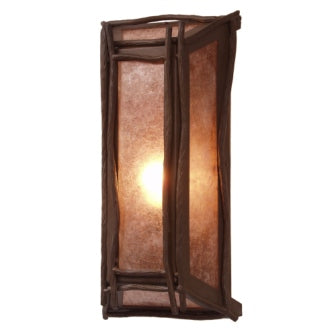 Modern Rustic Lighting - Steel Partners Lighting 2380-17 - Cabin Lighting Sconce - Lone Sticks