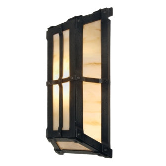 Modern Rustic Cabin Lighting - Steel Partners Lighting 2380-71 - Cabin Lighting Sconce - Lone San Carlos