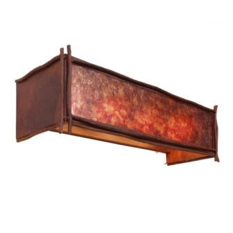 Hunting Lodge Lighting Fixtures - Steel Partners Lighting 2617-4 - Rustic Vanity Lights - Sticks (4 Light)