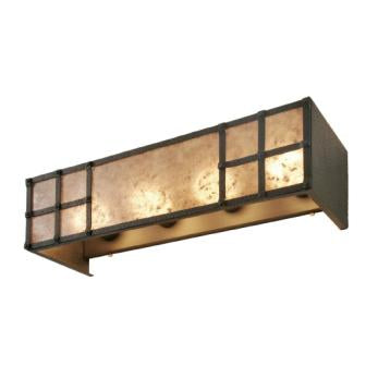 Rustic Log Cabin Lighting Fixtures - Steel Partners Lighting 2671-4 - Rustic Vanity Lights - San Carlos (4 Light)