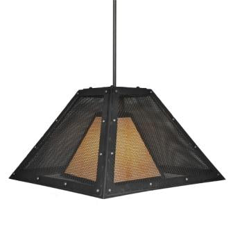 Country Style Lights - Steel Partners Lighting 2774-M - Farmhouse Lighting - Swag - Rogue River - Mesh