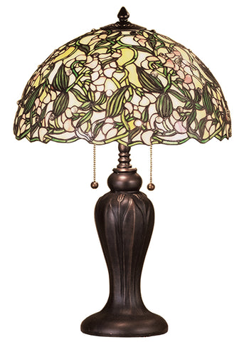 "Farmhouse Table Lamps Meyda 48622 - 24""H Sweet Pea Table Lamp"
