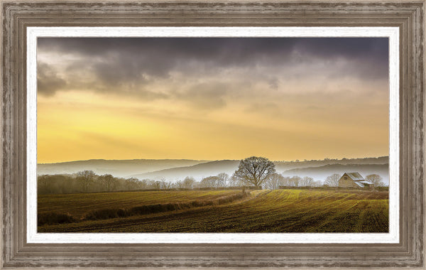 The Farm Wall Art 28 x 44 inch framed size (approximately)