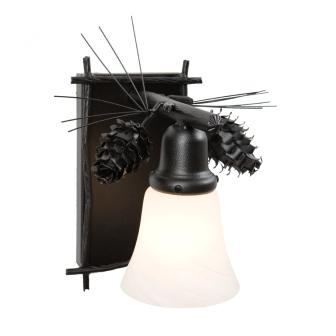 Modern Country Style Lighting Fixtures - Steel Partners Lighting 5165 - Glacier Sconce - Ponderosa Pine