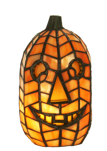 "Country Novelty Lamps And Accessories Meyda 68100 - 8.5""H Jack O'Lantern Accent Lamp"