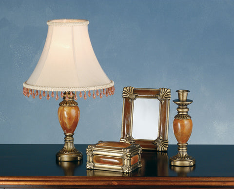 Rustic Farmhouse Novelty Lamps And Accessories Meyda 69537 - Boca Raton 4 Pieces Vanity Set