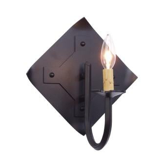 Lodge Lighting Fixture - Steel Partners Lighting 7300 - Rustic Farmhouse Sconce Lighting - St. George