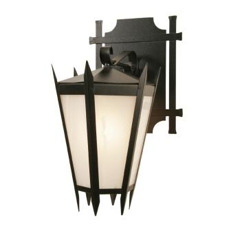 Log Cabin Lighting Fixture - Steel Partners Lighting 7306-WET - Rustic Farmhouse Sconce Lighting - Coronado