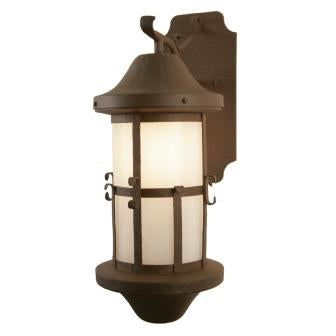 Cabin Lighting Fixture - Steel Partners Lighting 7313-WET - Rustic Farmhouse Sconce Lighting - Catalina