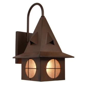 Lodge Style Lighting Fixture - Steel Partners Lighting 7342-WET - Indoor / Outdoor Sconce - Eastwood