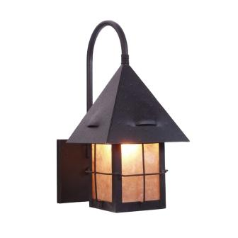 Log Cabin Style Lighting Fixture - Steel Partners Lighting 7348-WET - Sconce - Lapaz