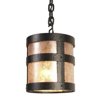 Modern Country Lighting Fixture - Steel Partners Lighting 7370-P-OPEN-M - Farmhouse Pendant Lighting - Portland - Open - Mesh