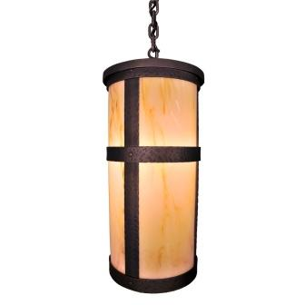 Modern Cabin Lighting Fixture - Steel Partners Lighting 7370-P-Open-Tall-2 - Farmhouse Pendant Lighting - Open - Portland - Tall With Lid