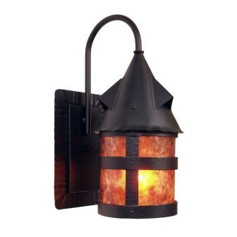 Rustic Country Lighting Fixture - Steel Partners Lighting 7370-Wet - Indoor / Outdoor Sconce - Portland - Wet Location