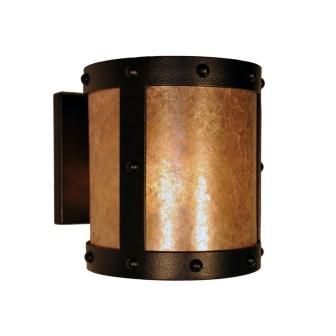 Rustic Lodge Lighting Fixture - Steel Partners Lighting 7374-OPEN - Open Sconce - Rivets