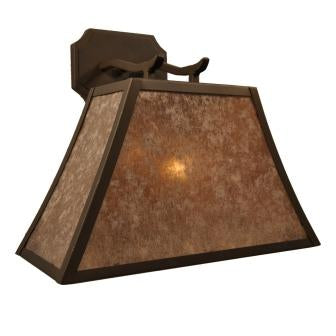 Rustic Log Cabin Lighting Fixture - Steel Partners Lighting 7500 - Sconce - Summit