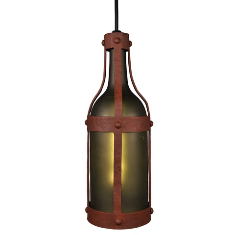 Modern Country Style Lighting Fixture - Steel Partners Lighting 7700 - Pendant - Napa - Green