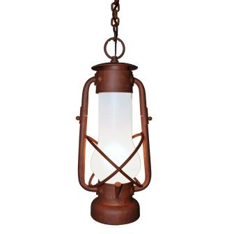 Rustic Lodge Style Lighting Fixture - Steel Partners Lighting 7900-W - Indoor / Outdoor Sconce - Decatur