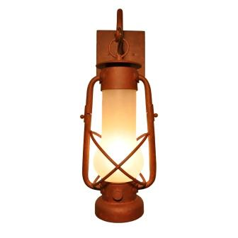 Rustic Farmhouse Style Lighting Fixture - Steel Partners Lighting 7900 - Hanging Sconce - Decatur