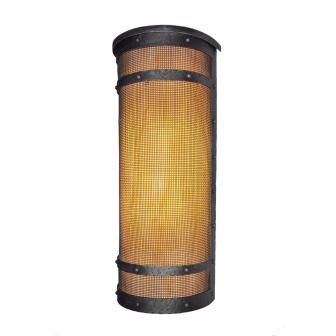 Modern Lodge Style Light Fixture - Steel Partners Lighting 9271-Wet-Tall-M - Indoor / Outdoor Sconce - Willapa - San Carlos - Tall