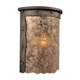 Modern Cabin Style Light Fixture - Steel Partners Lighting 9274 - Willapa Sconce - Rogue River