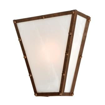 Log Cabin Style Light Fixtures - Steel Partners Lighting 9474 - Lodge Style Lighting Sconce - Vegas - Rogue River Ranch