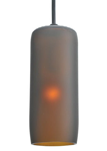 "Country Ceiling Lights Meyda 99425 - 3""W Venice Frosted Amber Wine Bottle Mini Pendant Light"
