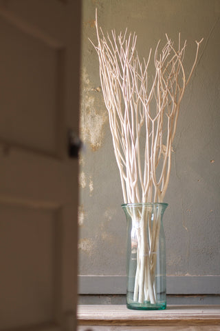 Set Of 3 Bleached Willow Branches