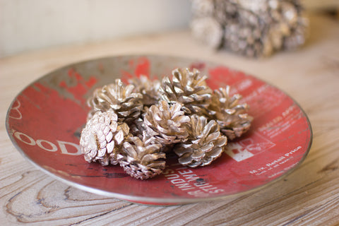 Bag Of Pine Cones-Champagne