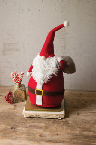 Felt Santa With Toy Bag