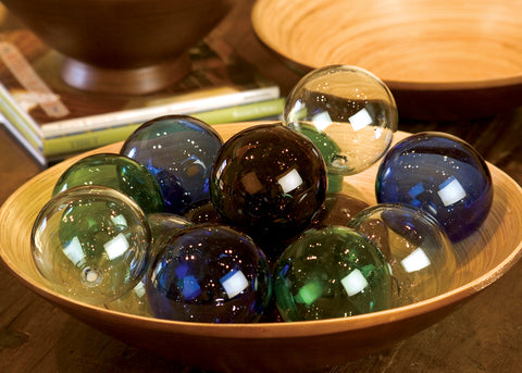 Recycled Glass Ball - Clear