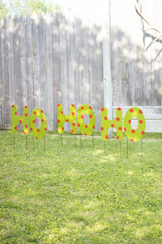 Christmas Yard Art - Ho, Ho, Ho