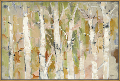 White Forest I v.2 Wall Art 25 x 37 inch framed size (approximately)