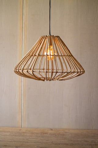 Cane Triangle Pendant Light