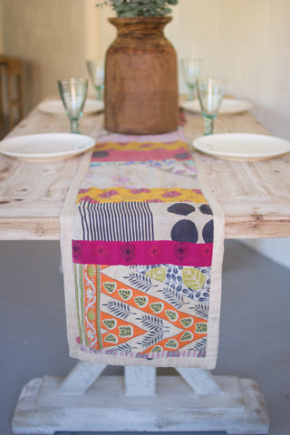 Kantha Fabric Runner