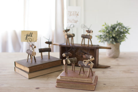 Twig Deer Place Card Holder