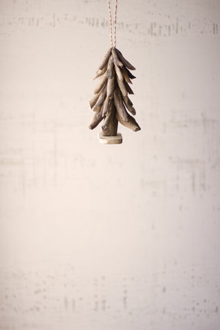 Driftwood Tree Christmas Ornament
