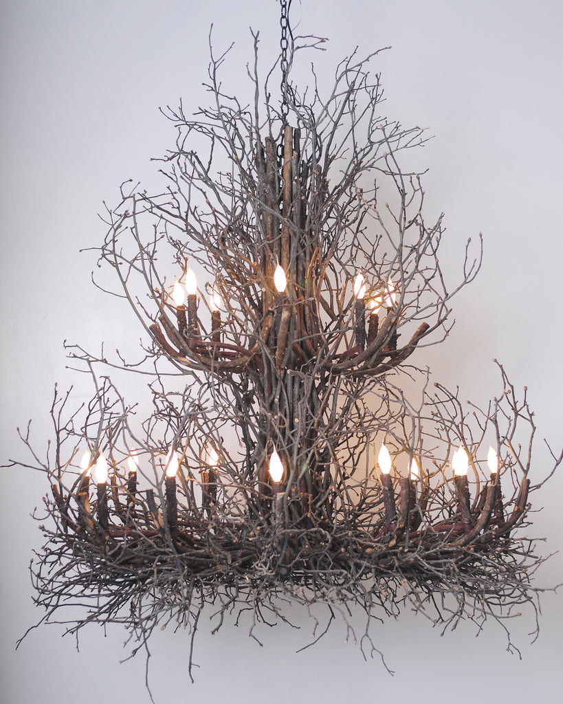 branch chandelier lighting. A Wish Designs USA RE Phillips Hickory Twig Chandeliers Branch Chandelier Lighting