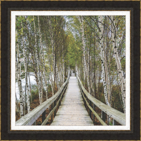 The Path Home Wall Art 35 x 35 inch framed size (approximately)