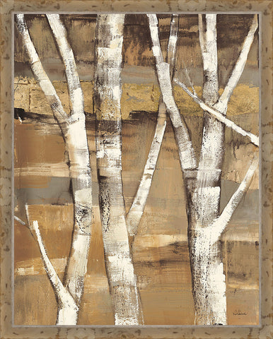 Wandering Through the Birches I Wall Art 30 x 24 inch framed size (approximately)