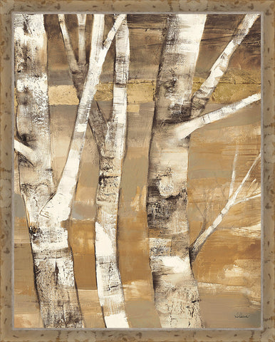 Wandering Through the Birches II Wall Art 30 x 24 inch framed size (approximately)