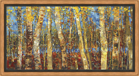 Variant Forest Wall Art 22.75 x 42.75 inch framed size (approximately)
