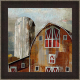 Silo Wall Art 14.5 x 14.5 inch framed size (approximately)
