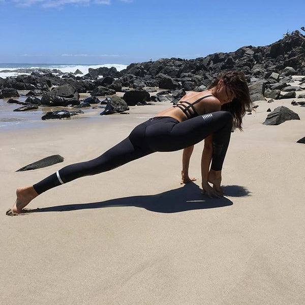 I've never seen yoga look so sexy @danibonnor wearing COCO - Shadow Lux