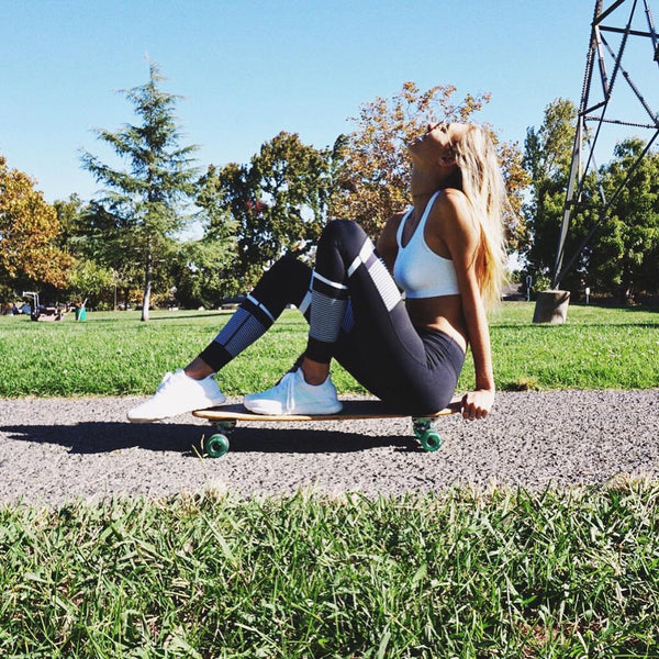 Meet me at the skate park babes and let's hang out in our Lilybods 🔥🔥🔥 @sailortaylor13 wearing PIA - Super Air