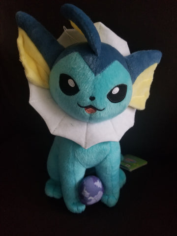 Vaporeon with Water Stone  Pokemon Plush