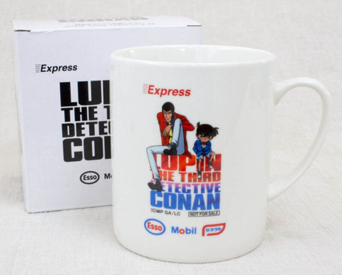 Lupin The Third x Detective Conan Mug