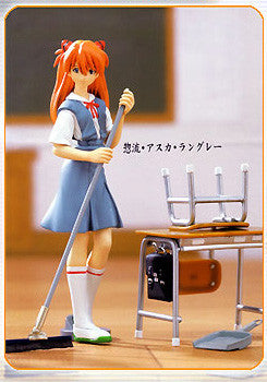 Evangelion cleaning time school figure asuka