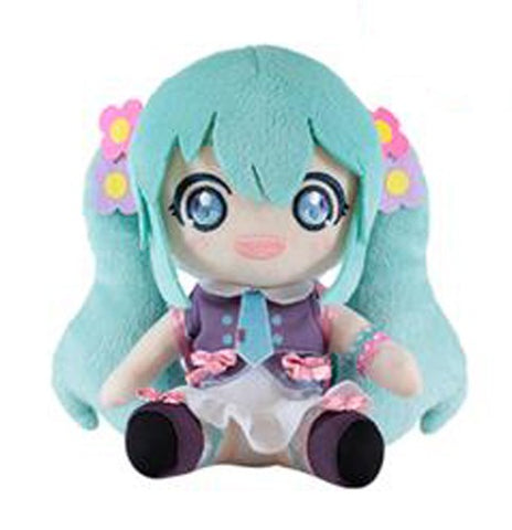 Summer Miku with Backpack Vocaloid Plush