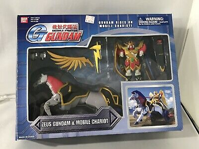 G Gundam Zeus and Mobile Chariot figure